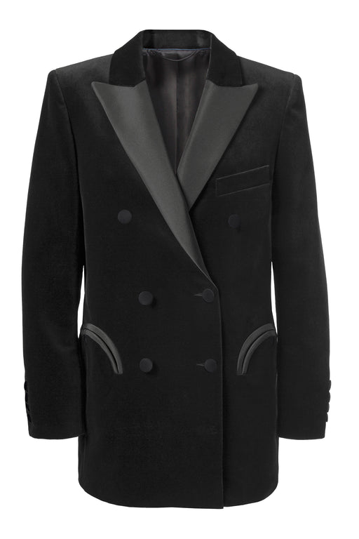 Jealousy Black Double Breast Everyday Blazer