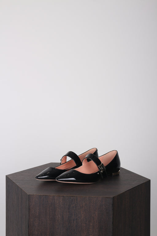 Mary Jane Flats Black
