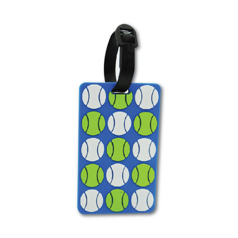 Tennis Balls Tennis Bag Tag Tennis Gift - Racquet Inc Tennis Gifts