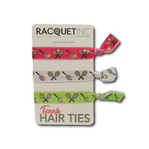 Tennis Hair Ties - Racquet Inc Tennis Gifts