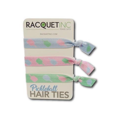 Pickleball Hair Ties (3 Pack) - Pickleball Gifts