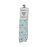 Tennis Headband Tie - White - Racquet Inc Tennis Gifts