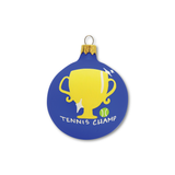 Tennis Champ - Tennis Holiday Ornament - Racquet Inc Tennis Gifts