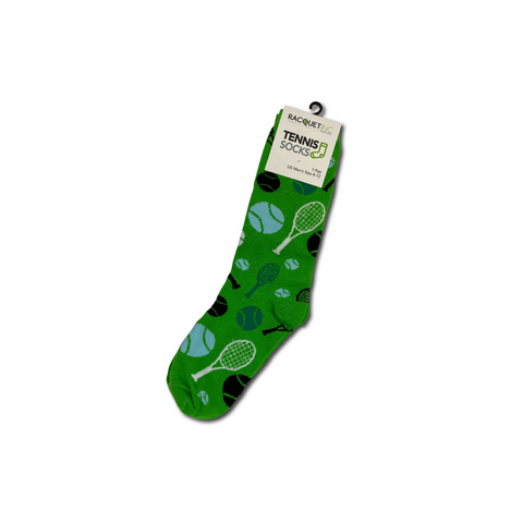 Men's Tennis Dress Socks - Green