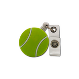 Tennis Ball Retractable Badge Holder