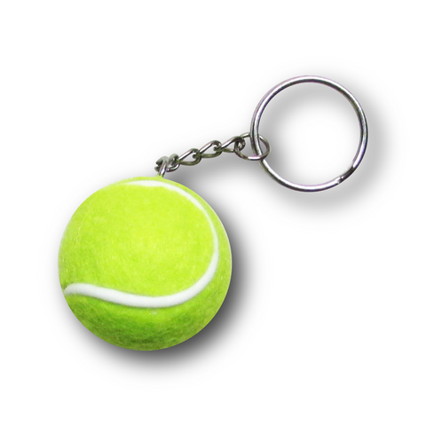 Tennis Ball Keychain