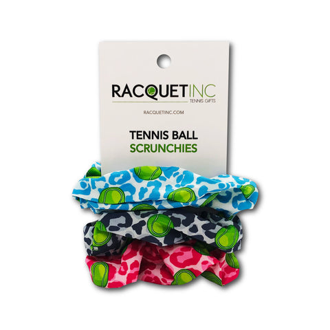 Tennis Ball Scrunchies - Cheetah