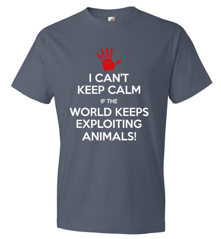 I Can't Keep Calm Anvil Fashion T-Shirt