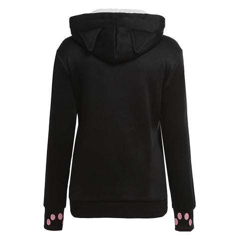 Hoodie for Cat Lovers (with cuddle pouch)