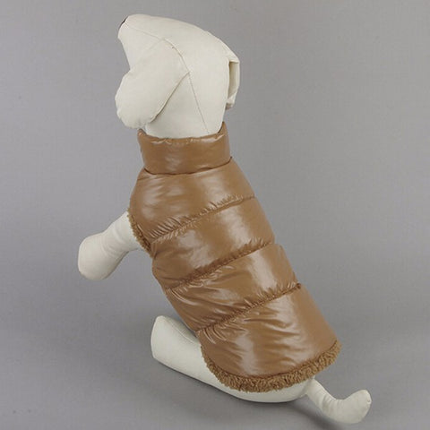 Padded and Warm Winter Jacket For Pets