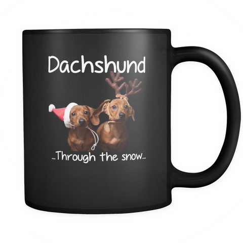 Dachshund Through The Snow Mug