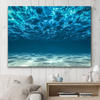 Image of Beautiful 'Blue Ocean' Wall Art