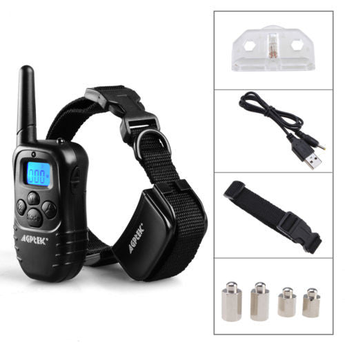 Rechargeable and Waterproof Dog Training Collar