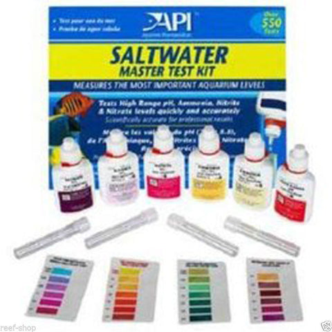 API Aquarium Pharmaceuticals Saltwater Liquid Master Test Kit
