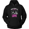 Image of 'Dogs Never Lie About Love' Hoodie