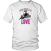Image of 'Dogs Never Lie About Love' District Unisex T-Shirt