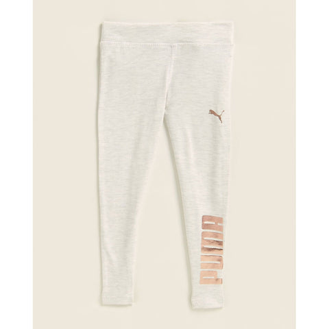 Oatmeal Heather Foil Logo Leggings