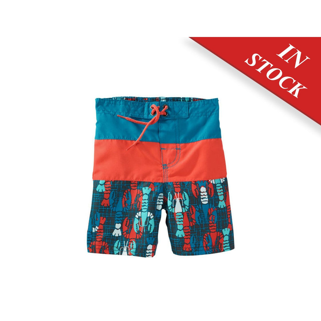 Oshkosh Lobster Print Swim Trunks