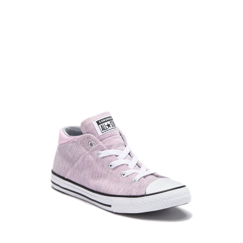 Chuck Taylor(R) Mid Lace-Up Pink Foam Sneaker
