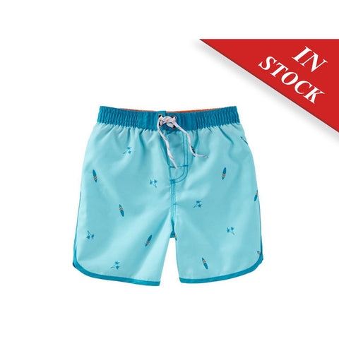 Oshkosh Surf Board Print Swim Trunks