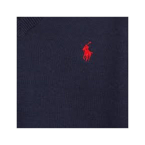 POLO RALPH LAUREN ELBOW-PATCH COTTON SWEATER