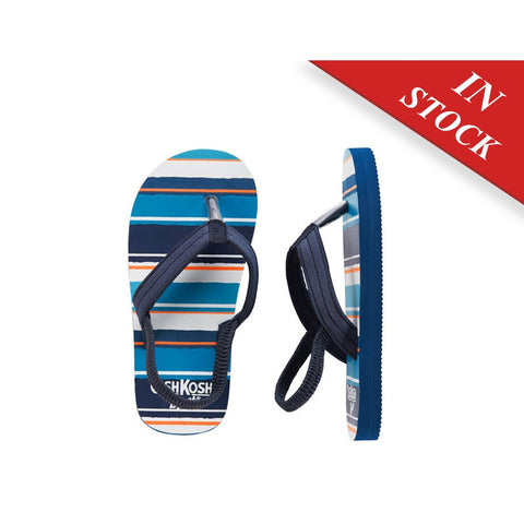 OshKosh Striped Flip Flops