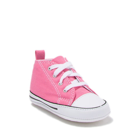 Chuck Taylor(R) All Star(R) High Pink Sneake