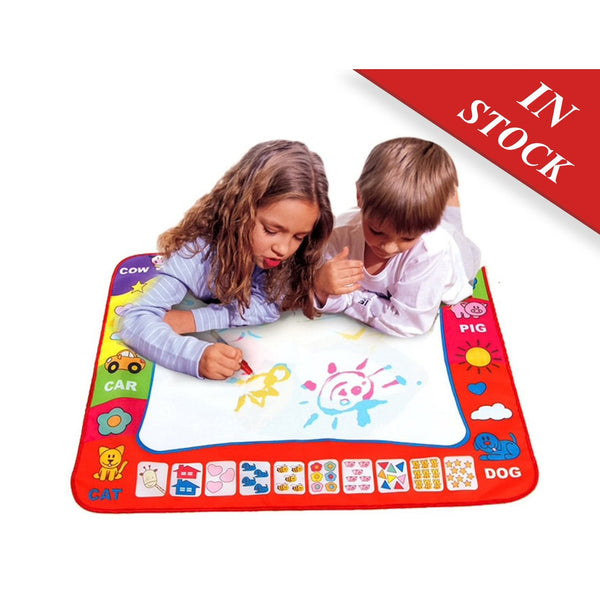Drawing mats for children drawing paint learning Educational Soft Montessori children intelligent creative interactive toy