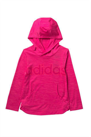 Melange Hooded Top