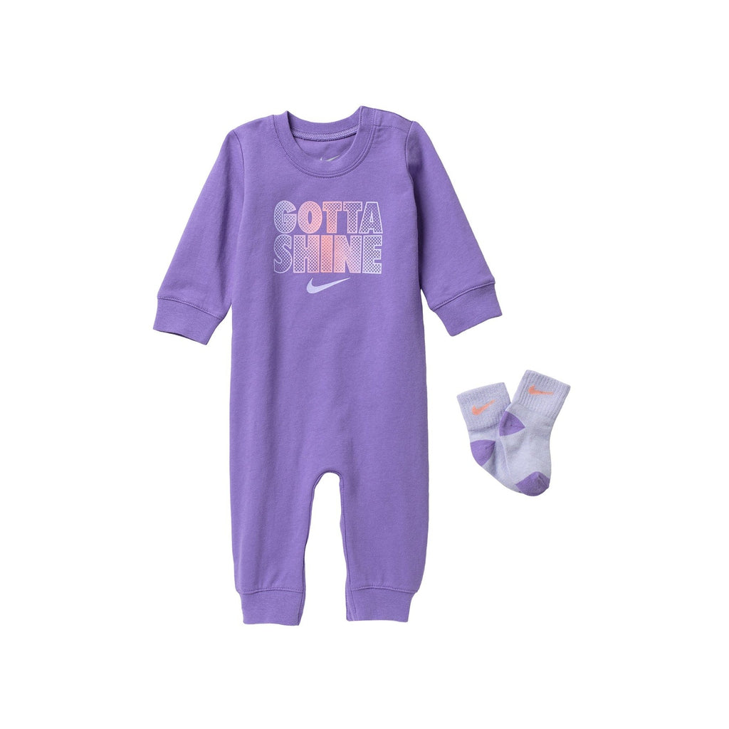 Coverall & Socks 2-Piece Set
