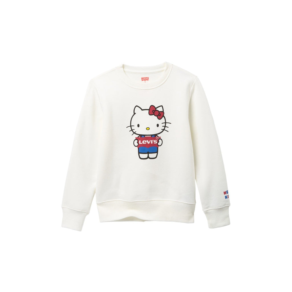 Hello Kitty Crew Neck Pullover Sweater