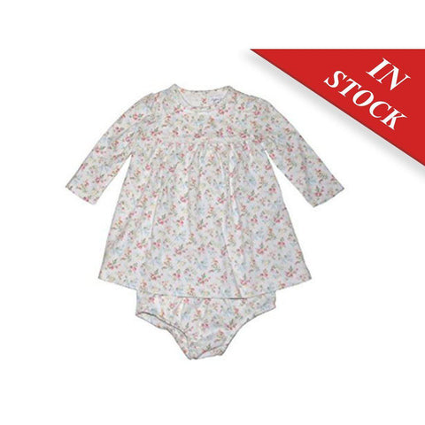 Ralph Lauren Baby Girls Print Floral Dress Set