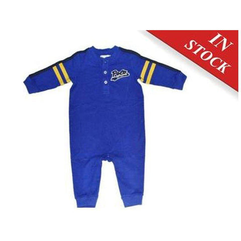 Ralph Lauren Baby Boys Cotton Shawl-Collar Coverall