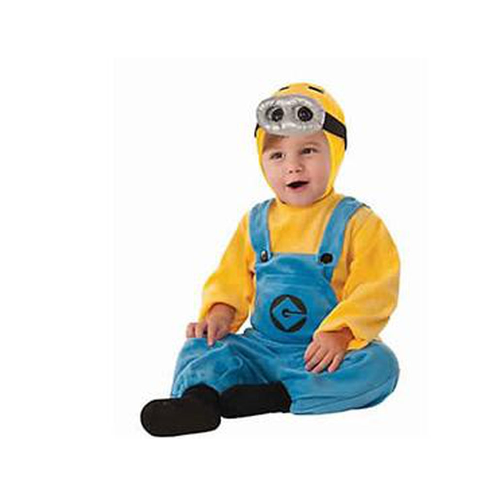 Baby Dave Minion Costume - Despicable Me 2 - BABYJOX