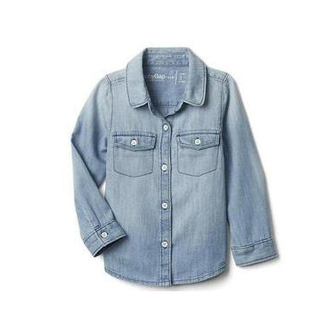 1969 light chambray shirt - BABYJOX