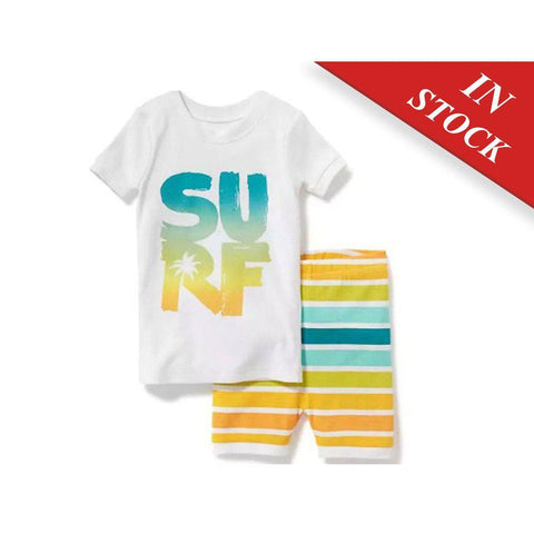 "2-Piece ""Surf"" Graphic Sleep Set For Baby - BABYJOX"