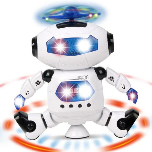 Cooplay CP99444-2 Smart Space Dance Robot Electronic Walking Toys With Music Light Gift For Kids Astronaut Toy to Child - BABYJOX