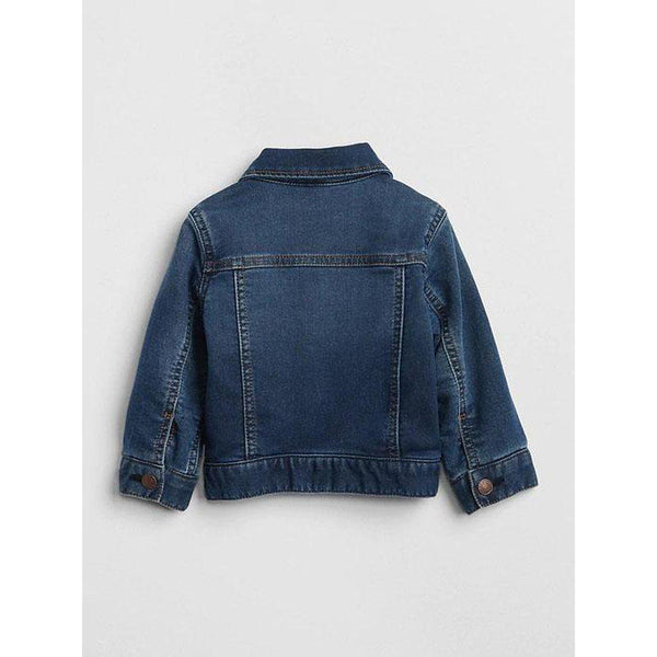Baby Icon Jersey-Lined Denim Jacket