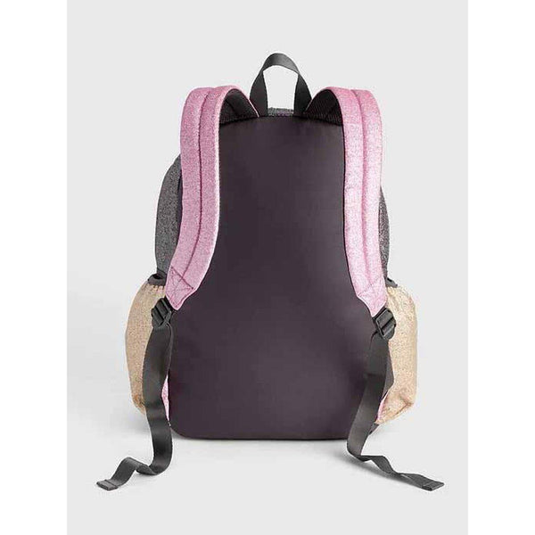 Kids Glitter Colorblock Senior Backpack
