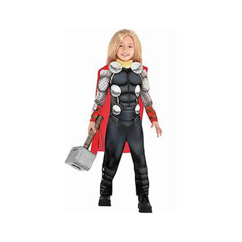 Little Boys Thor Muscle Costume
