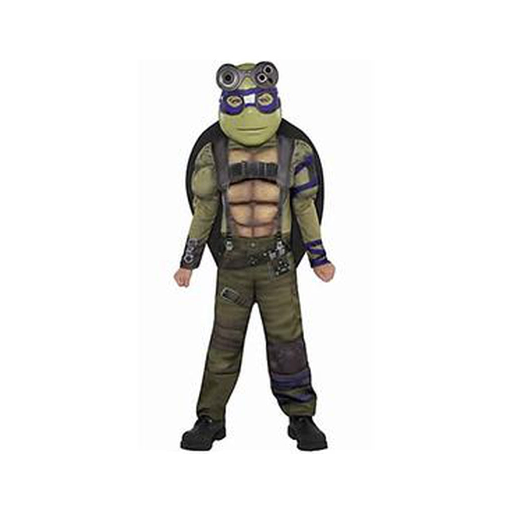 Little Boys Donatello Muscle Costume - Teenage Mutant Ninja Turtles 2