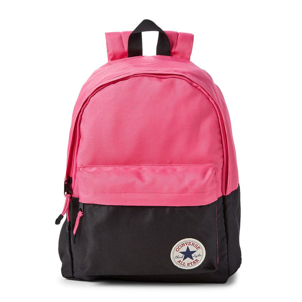 Mod Pink Colorblock Backpack