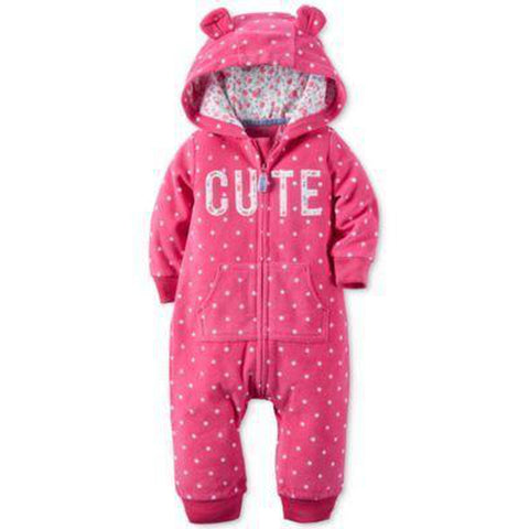 Cute Hooded Jumpsuit