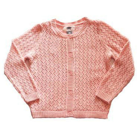Cable-Knit Crew-Neck Sweater For Toddler Girls - BABYJOX