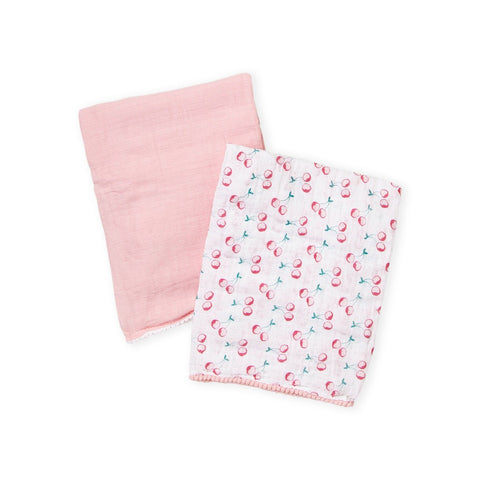 Two-Pack Cherry Blankets