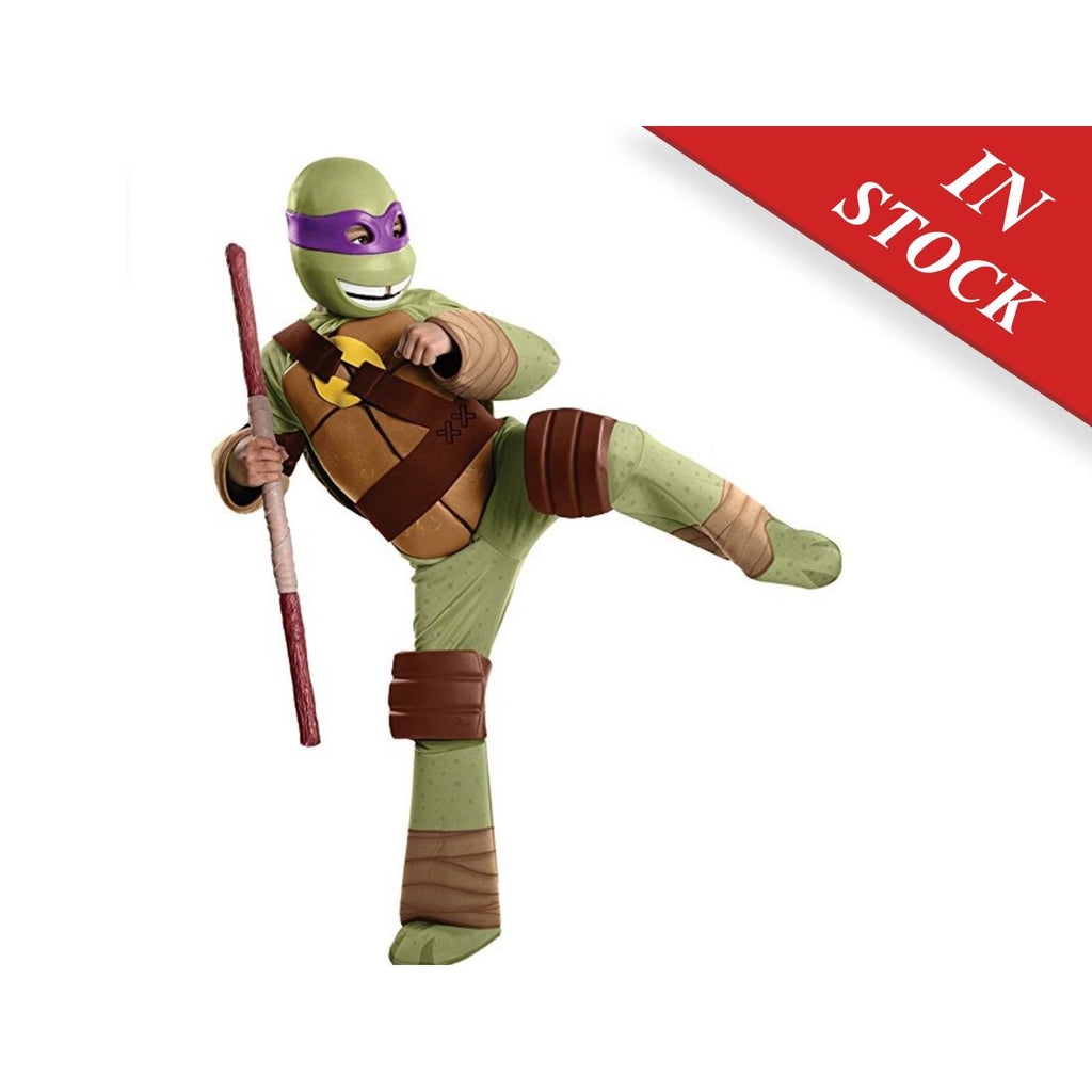 Mutant Ninja Turtles Deluxe Donatello Costume, Small