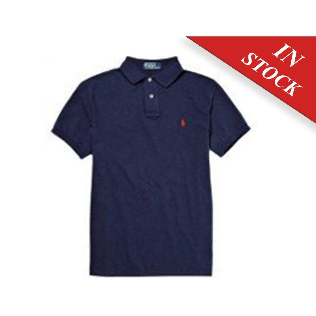 Polo Ralph Lauren Baby' Mesh Polo Shirt, French Navy