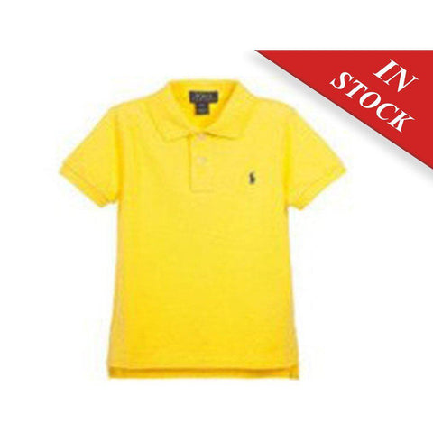 Polo Ralph Lauren Baby' Mesh Polo Shirt, Yellow