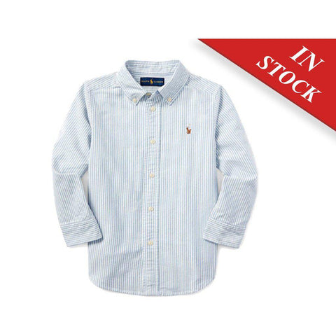 Polo Ralph Lauren Blake Cotton Oxford Shirt Long Sleeves