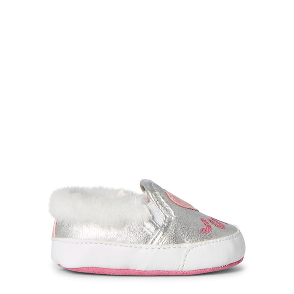 Silver Baby Eureka Slip-On Sneakers